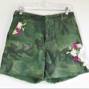 Free People embroidered high rise short